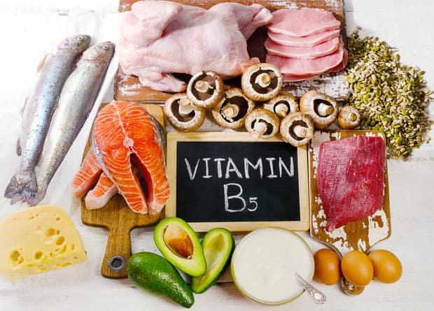 Источники витамина B5