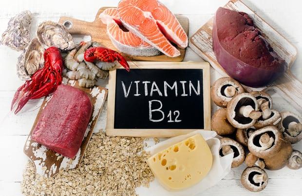 Витамин B12 с едой