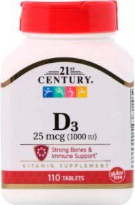 Витамин D3 от 21st Century