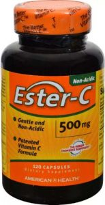 Упаковка БАДа Ester-C от American Health