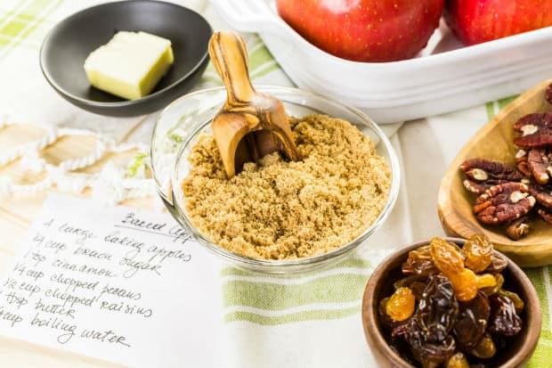 начинка для фаршированных яблок