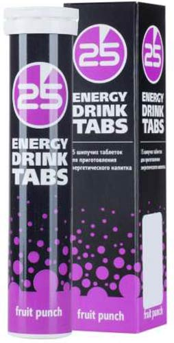Шипучие таблетки 25 Energy Drink Tabs