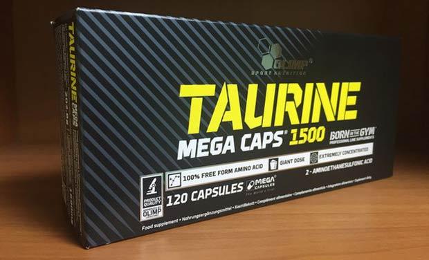Упаковка добавки с таурином