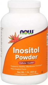 Упаковка добавки Inositol Powder Cellular Health