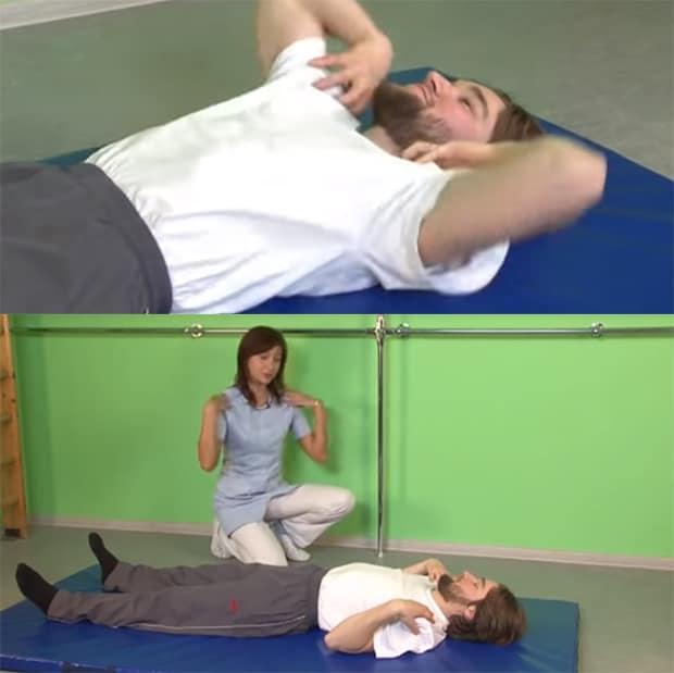 Круговые движения плечами