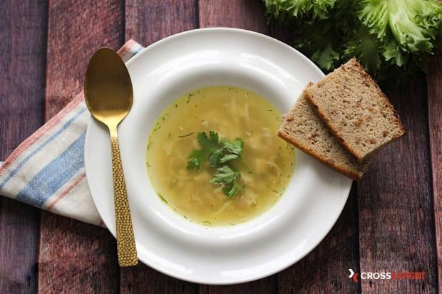 куриный суп с лапшой - пошаговый рецепт