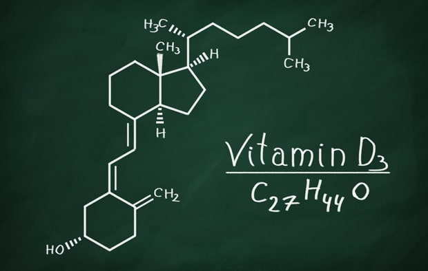 Формула витамина Д3
