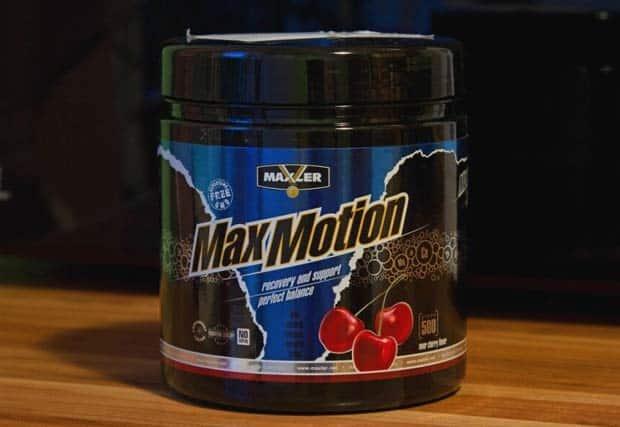 Max Motion Maxler с вишней на фоне