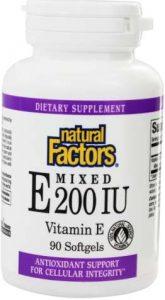 Упаковка добавки Mixed Vitamin E