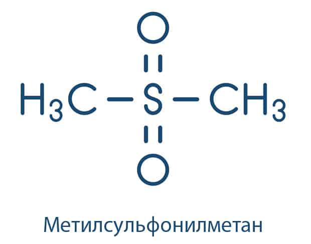 Формула Метилсульфонилметан (МСМ)
