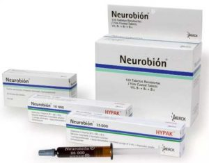 Нейробион от MERCK в ампулах