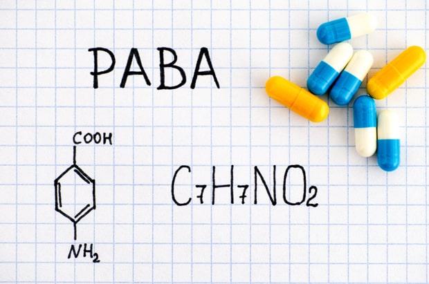 Формула и капсулы PABA