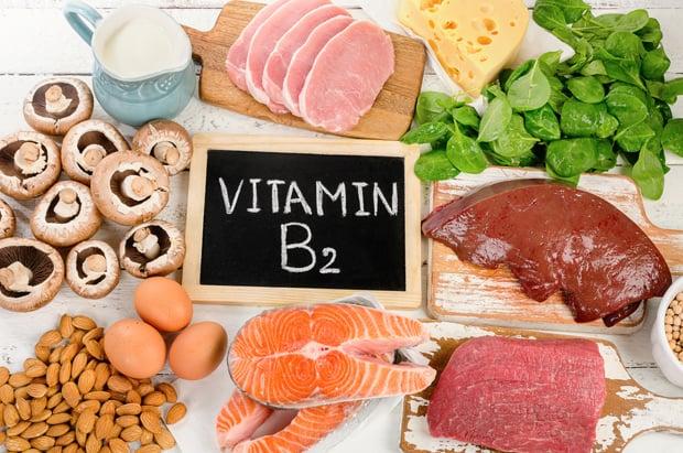 Мясо и другие продукты с рибофлавином