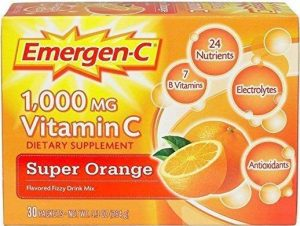 Средство Vitamin C, Super от Orange Alacer, Emergen-C