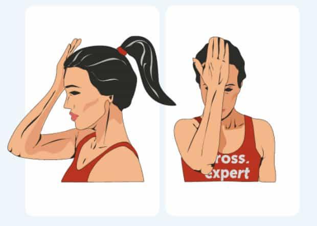 упражнение для шеи 1