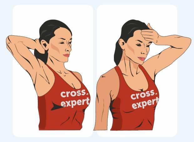упражнение для шеи 2