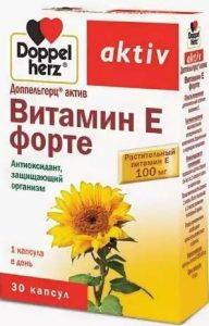 Добавка Витамин E Форте