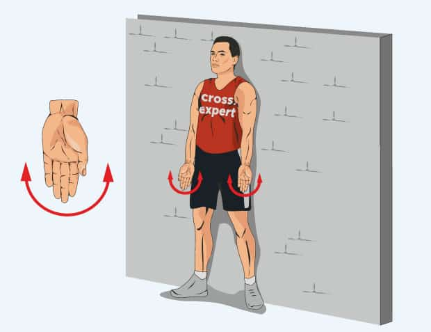 Упражнение отведение-приведение кисти
