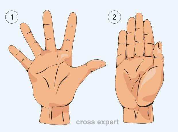 Как делать расширение-сведение пальцев