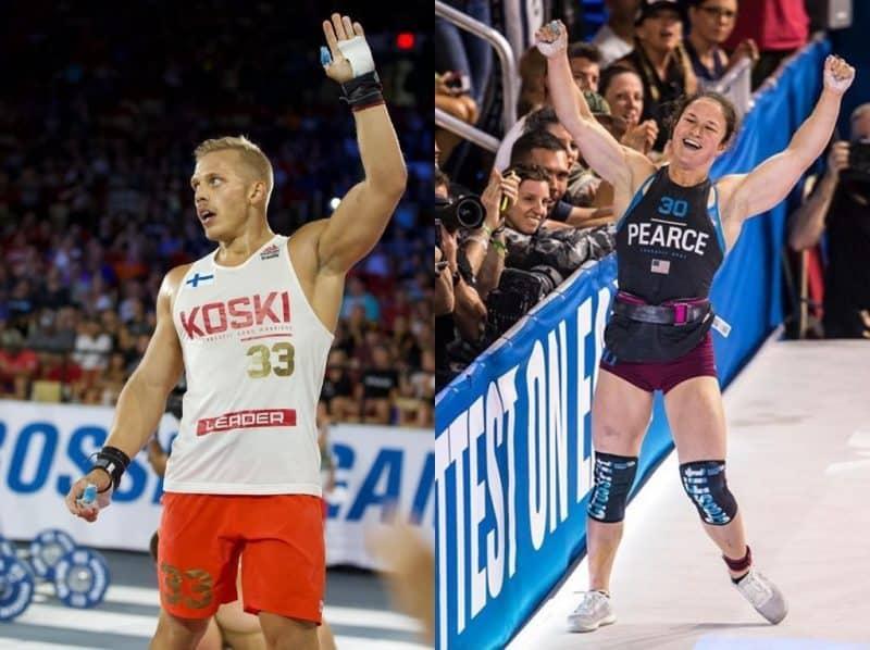 Коски и Пирс победили в CrossFit Open2019