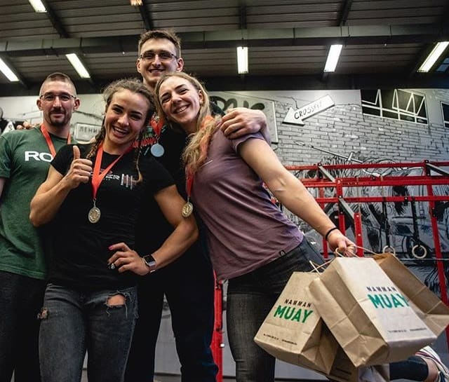 Red Tower Crossfit-Snowdrop Challenge 2019