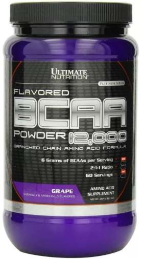 БАД Ultimate Nutrition BCAA Powder 12000