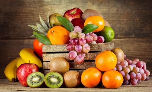 Полная таблица калорийности фруктов