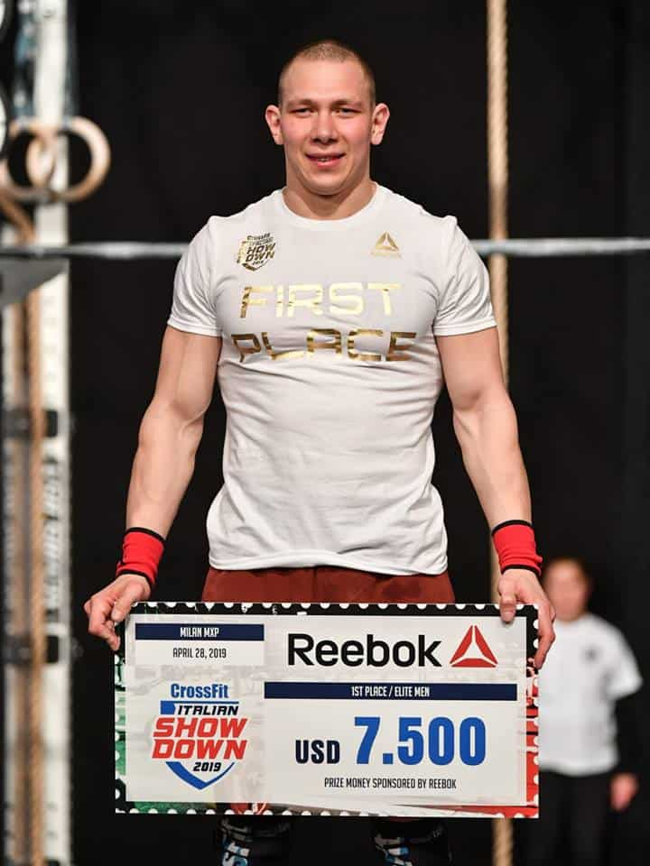 Роман Хренников одержал победу на CrossFit Italian Showdown 2019