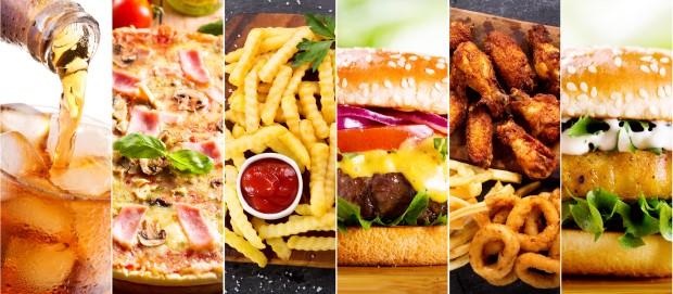 Таблица калорийности фаст-фуда