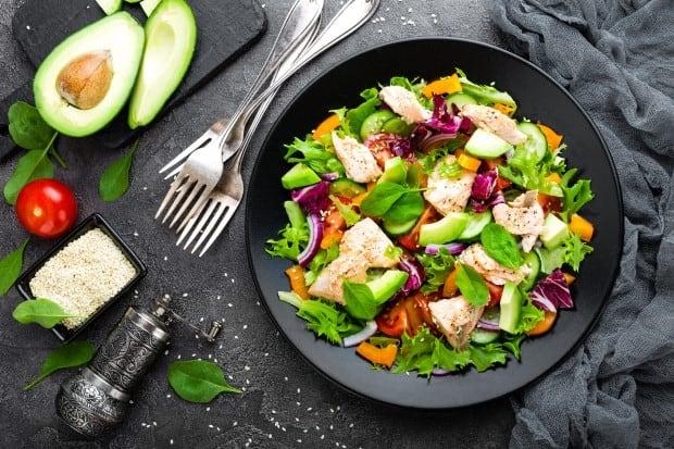 Таблица калорийности салатов