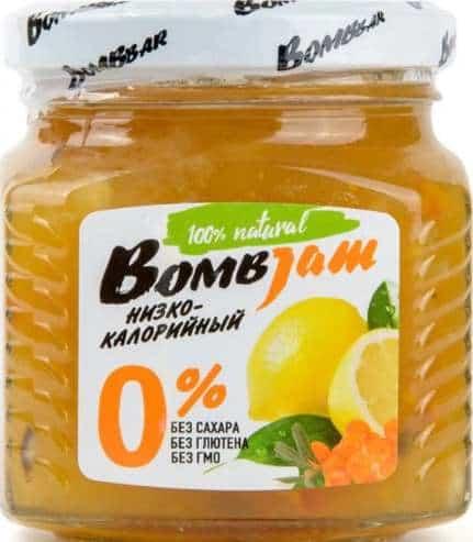 Джем со вкусом лимона