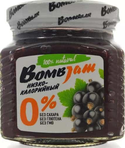 Джем со вкусом черной смородины