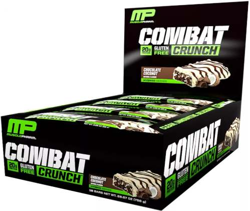 Упаковка MusclePharm Combat Crunch
