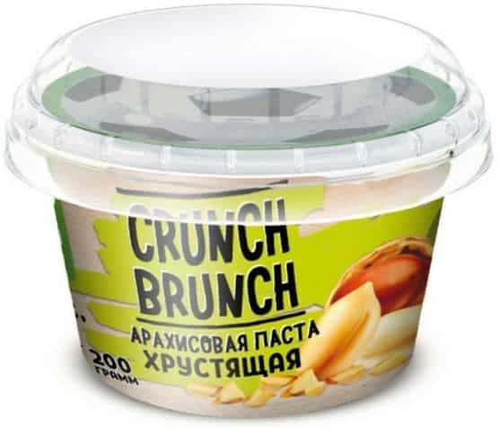 Хрустяющая Арахисовая паста Crunch Brunch