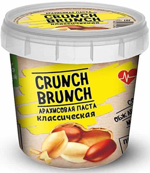 Арахисовая паста Crunch Brunch 1 кг