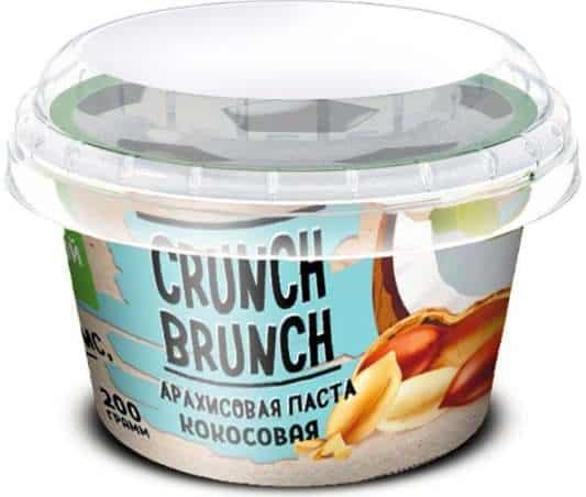 Кокосовая Арахисовая паста Crunch Brunch