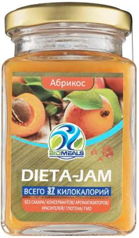 Dieta-Jam со вкусом абрикоса