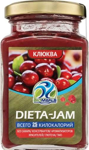 Dieta-Jam со вкусом клюквы