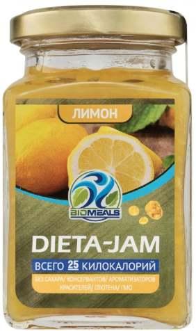 Dieta-Jam со вкусом лимона
