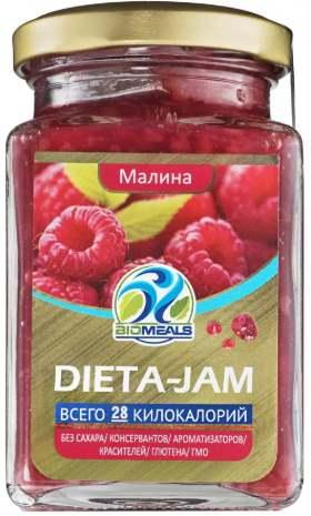 Dieta-Jam со вкусом малины