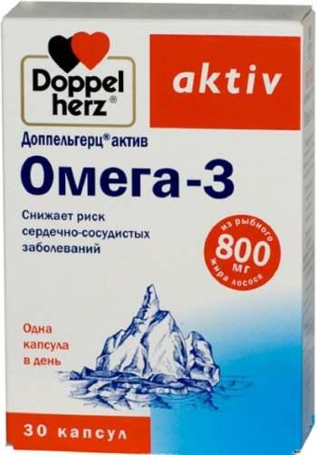 Добавка Доппельгерц Актив Омега-3