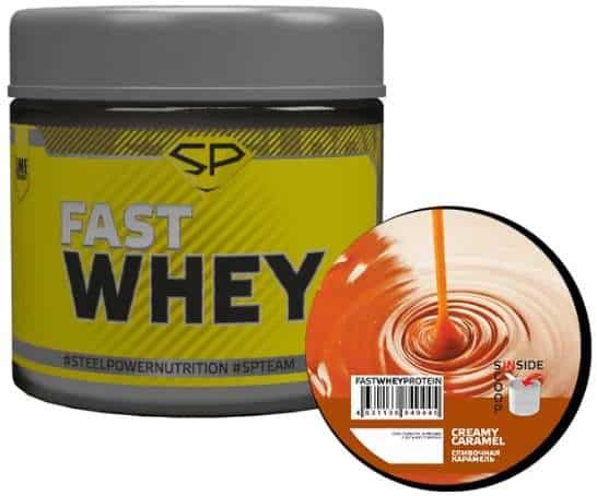 Fast Whey со вкусом карамели
