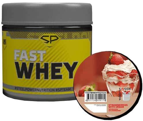 Fast Whey со вкусом клубники