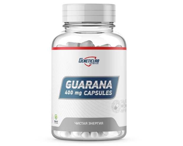 Упаковка с капсулами GeneticLab Guarana