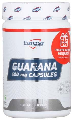 Добавка Guarana 400 мг от Geneticlab