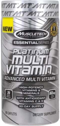 Комплекс Muscletech Essential Series Platinum Multi Vitamin