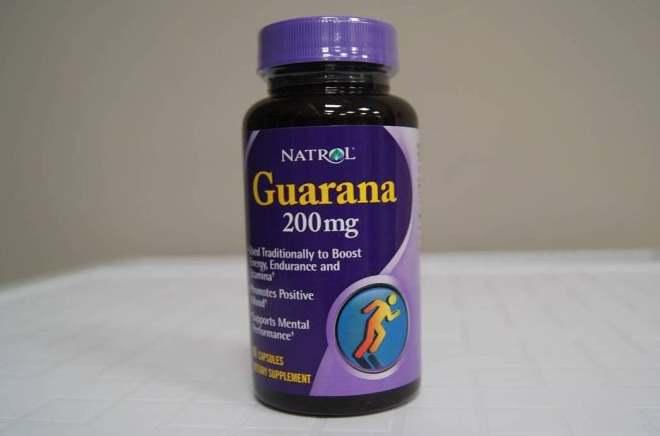 Упаковка добавки Natrol Guarana