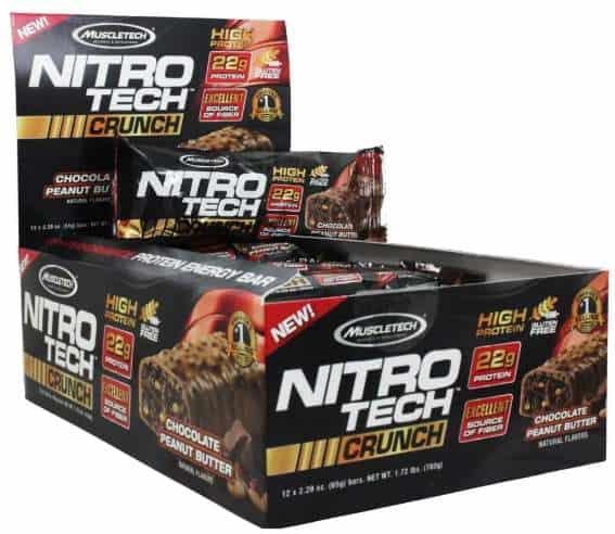 Упаковка MuscleTech Nitro Tech Crunch