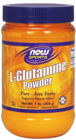 Глютамин NOW Sports L-Glutamine Powder