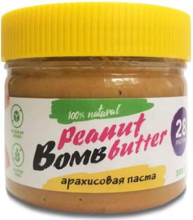 Банка арахисовой пасты от Бомббар